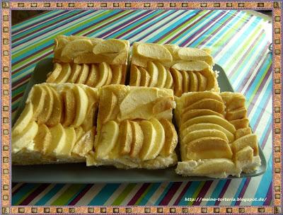 Fränkischer Apfel-Käsekuchen