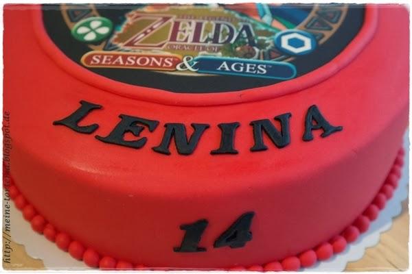 Eine Zelda Torte Zum 14 Geburtstag Meine Torteria