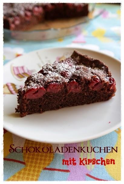 Saftiger Schokoladenkuchen Mit Kirschen Meine Torteria