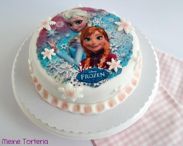 Eine Eiskonigin Torte Zum 4 Geburtstag Aber Bitte Schnell