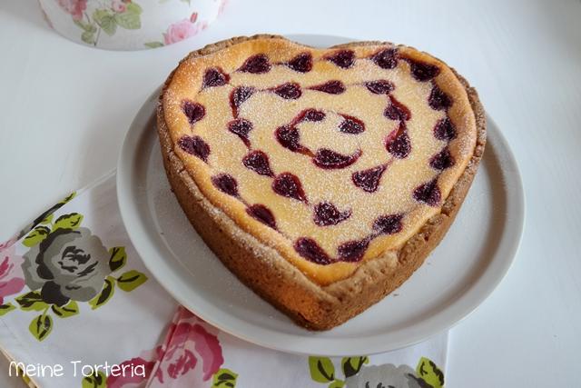 Valentinstag Special Herziger Kasekuchen Meine Torteria