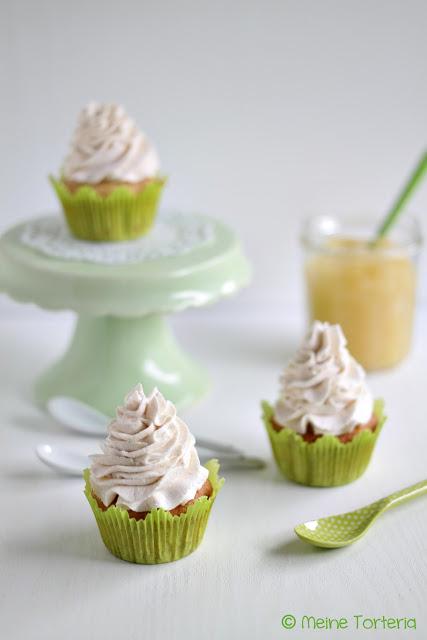 Apfel-Nuss-Cupcakes