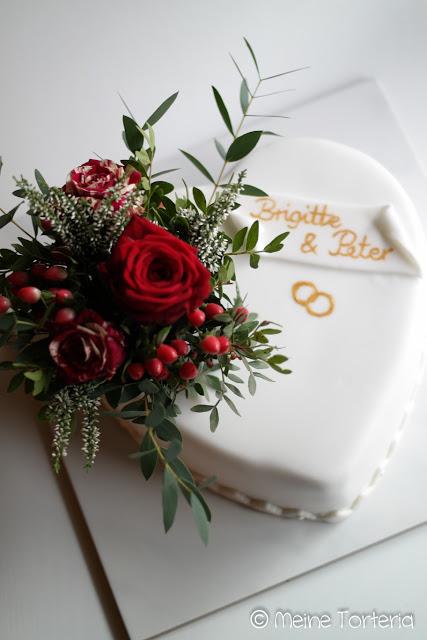 Hochzeitstorte für meinen Vater