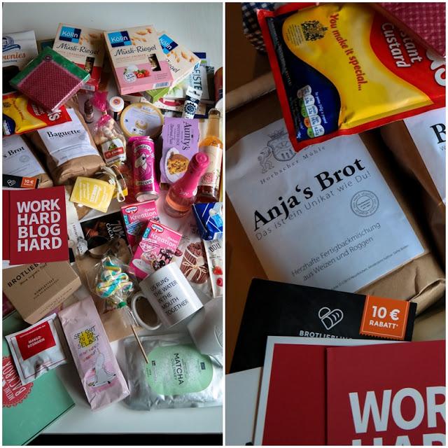 Goodiebag vom Bloggertreffen in Köln