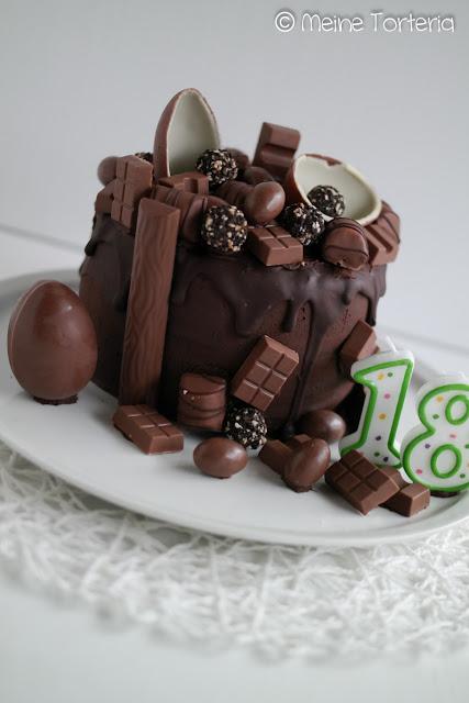 Schoko-Drip-Cake-zum-Geburtstag