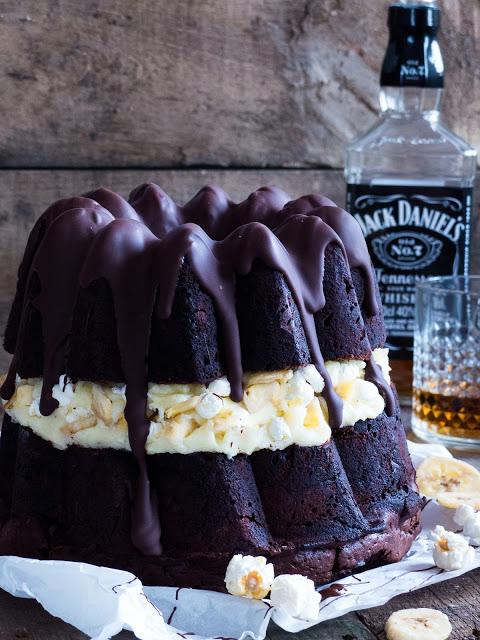 Jack Daniel's Schoko Bananen Gugel