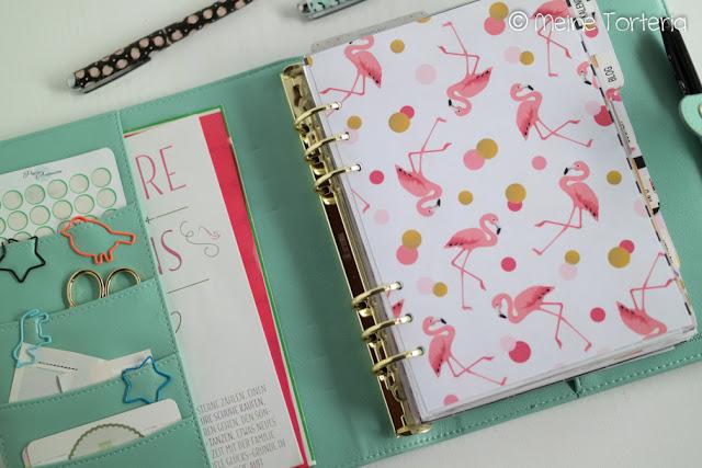 Blog-Planner, Blog-Organisation im klassischen Ringbuch-Kalender