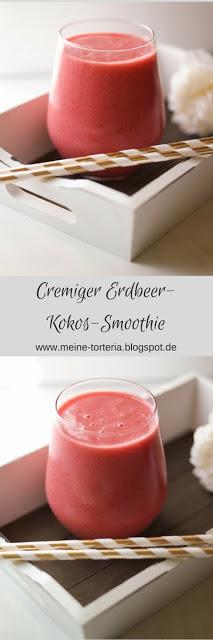 Erdbeer-Kokos-Smoothie