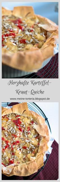 Herzhafte Kartoffel-Kraut-Quiche