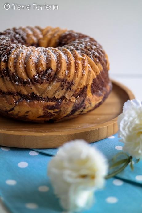 Blaubeer-Marmorkuchen