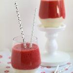 Erdbeer-Vanille-Smoothie