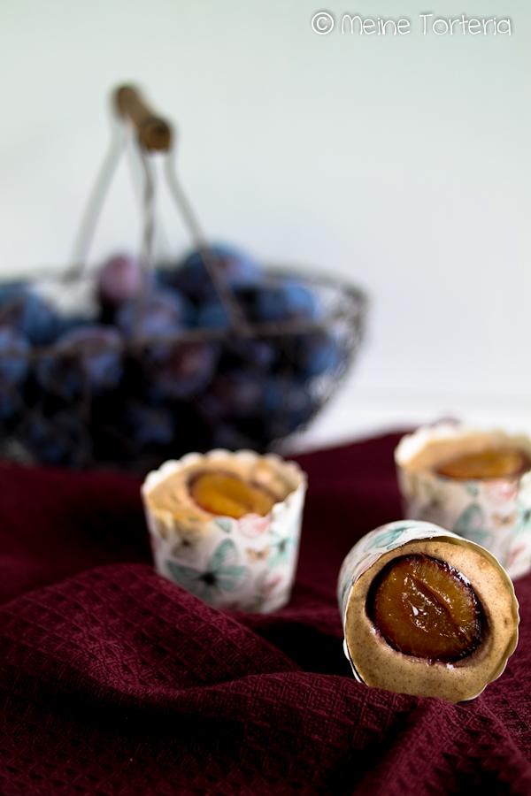 Pflaumen-Zimt-Muffins