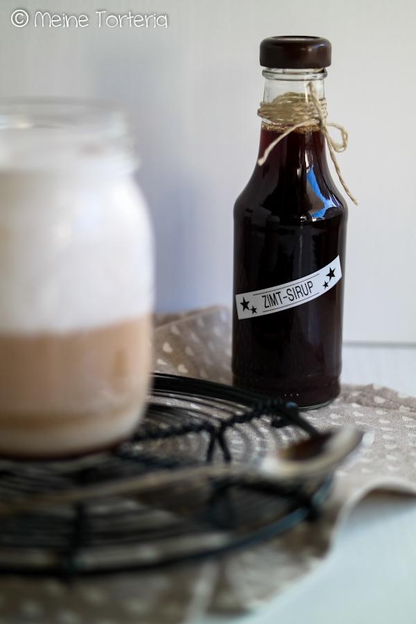 Zimtsirup für Kaffee