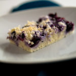 Blaubeer-Kokos-Kuchen