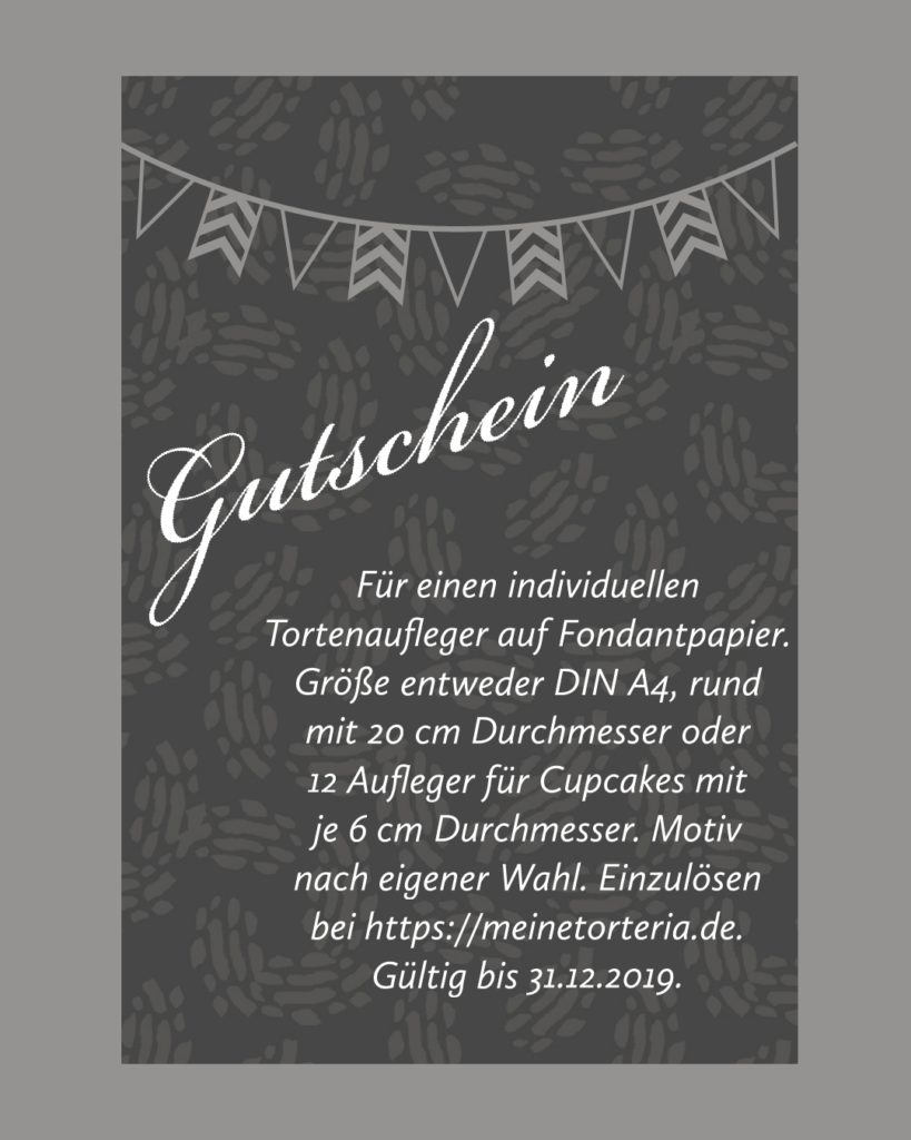 Gutschein Food Blogger Adventskalender