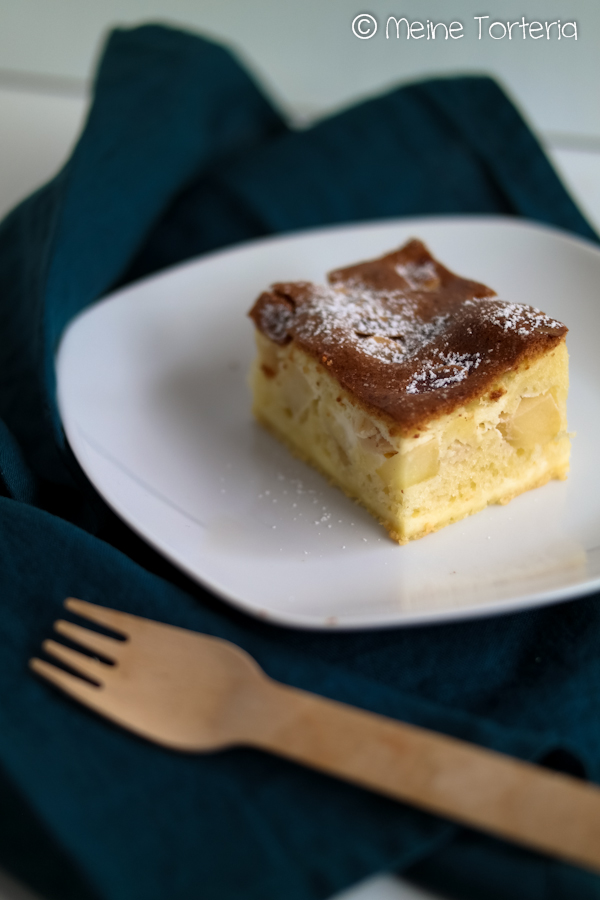 Apfel-Mascarpone-Kuchen vom Blech