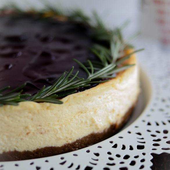 Glühwein-Cheesecake