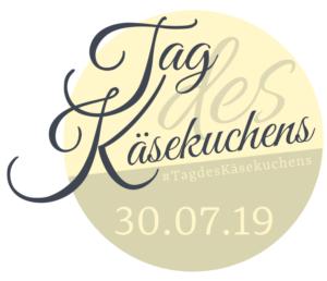 Logo Tag des Käsekuchens