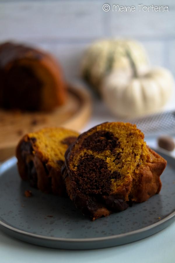 Kürbis-Marmorkuchen