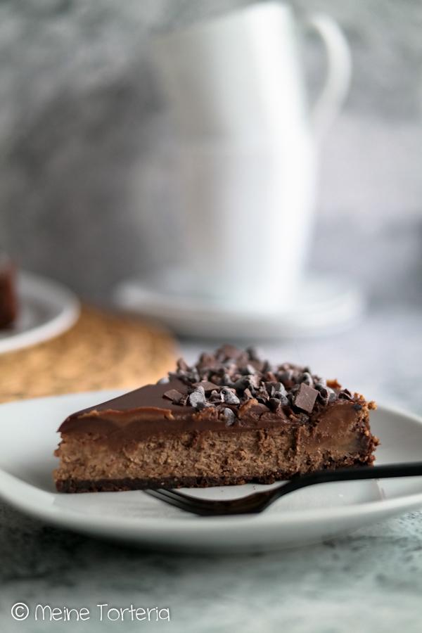 Rezept für Double Chocolate Cheesecake