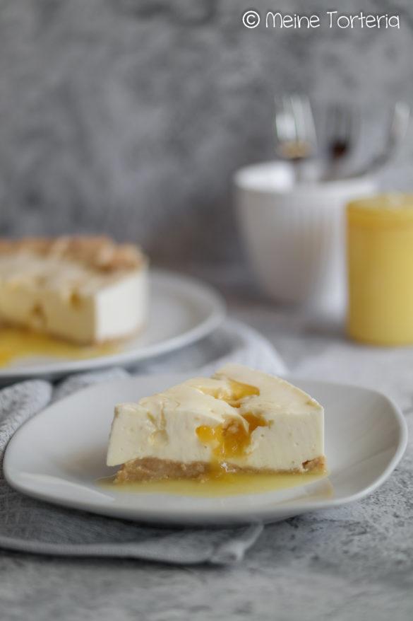Zitronen-Joghurt-Cheesecake