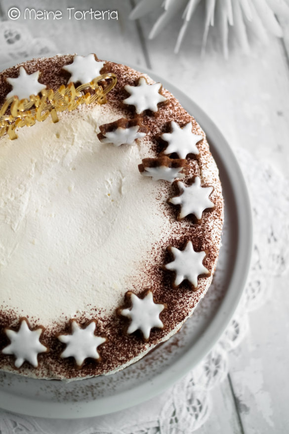 Glühwein Kirsch Torte