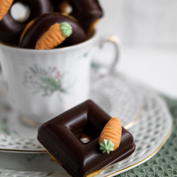 Mini-Karotten-Donuts