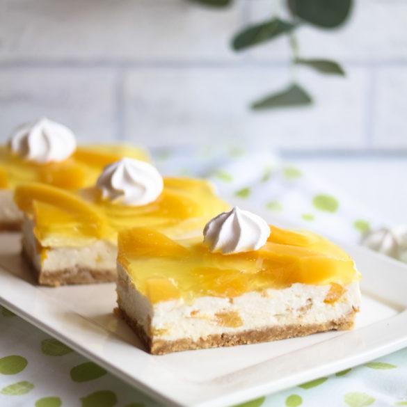 Mango Cheesecake Schnitten