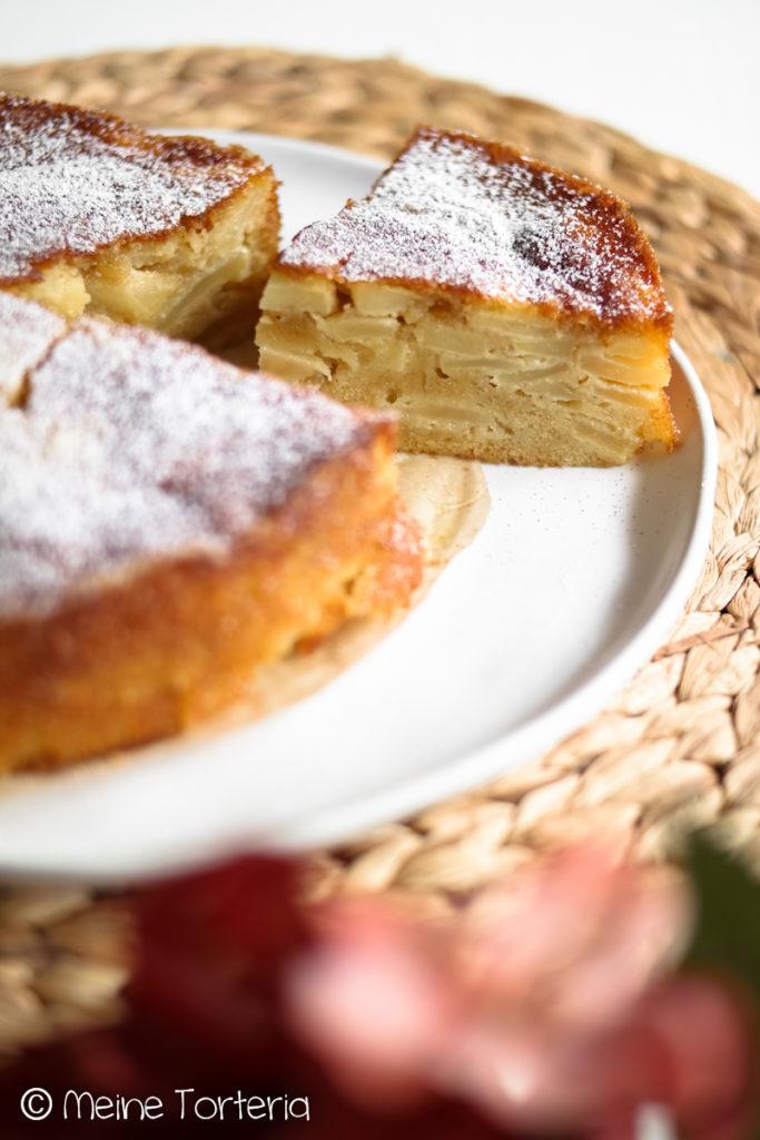 kleiner Apfelkuchen